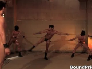 awesome extreme tough gay bondage part6