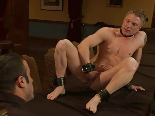 muscled gay hunnk obtains tied and humiliated