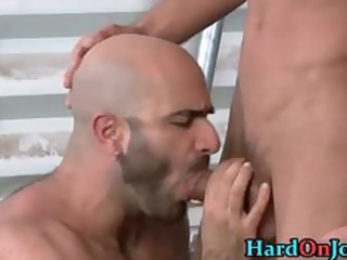 man gets his fine shaggy anal drilled part2