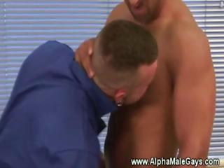 stud licks muscle dick and sucks arse of