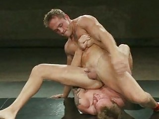 tattooed gay hunk had his butt pumped during