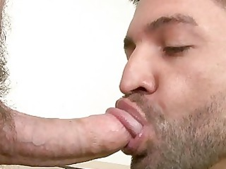 boylike gay having an ass licking and blowjob