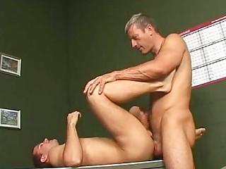 trashy brunette gay corbin obtaining anally