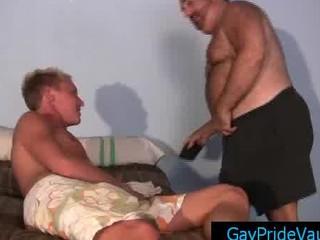 gay bear calling his fucker for some libido and