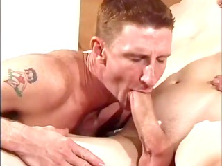 busty gay soldiers into uniform pleasing mouth