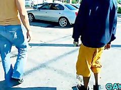clean guy copulates black