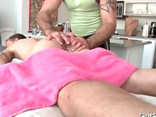 albino cutie takes intense massage part6