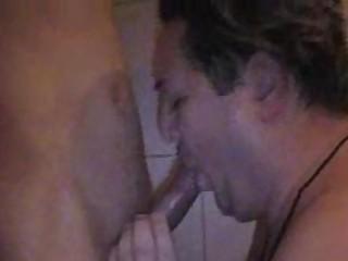 heavy gay hunk licks amateur uneasy  white cream