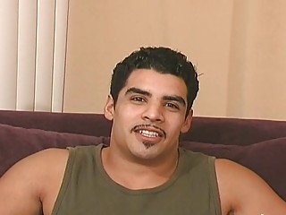 awesome latina gay stud obtains off everything