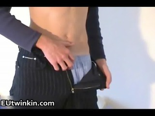 cute european twinks piercing and jerking gay porn