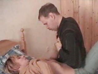 amateur bleached twink and elderly stud having