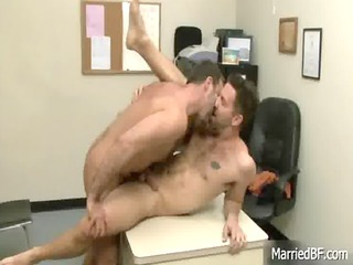 tattooed hunk acquires deep ass drill gay porn