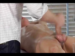 bdsm gay-boy acquires handjob 3