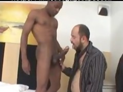 giant ebony libido gang-banging a hairy bear gay