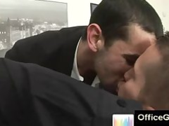 stud gives gay cock sucking at workplace