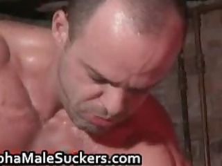 steamy gay tough fucking and licking part5