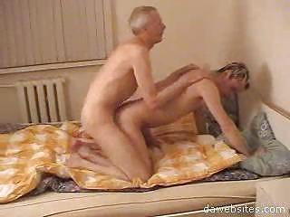 elderly gay copulates his amateur young man