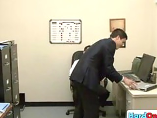 male licking his gay boss part6