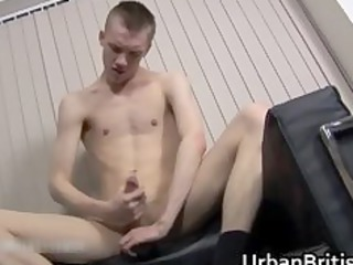 clayton kole jerking off his firm gay part4