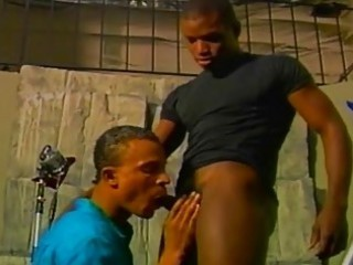 ebony gay drilling sex toy pictorial