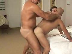 bareback - unshaved boyfrends drilling two