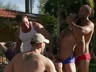 handsome gay guy had dominated and humiliated