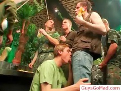giant piercing and sucking fest gay sex