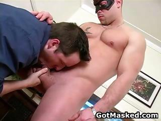 hunky gay guy going naked and jerking part2