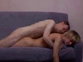 cougar gay stud and inexperienced blond boi