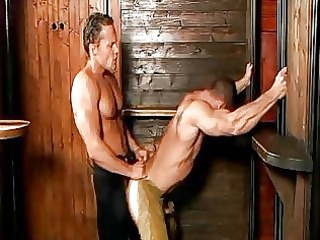 turned on handsome gay cowboys ride every others