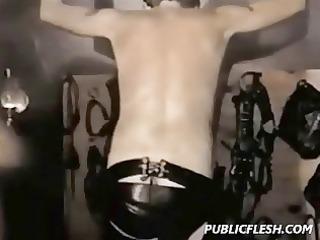 extreme vintage gay spanking and bondage