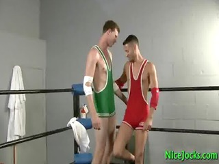 dallas and mario drilling into boxers ring gay