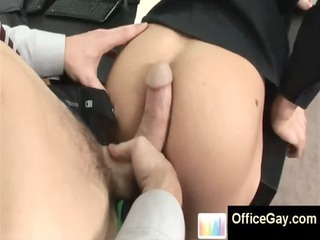 gay studs obtains gang-banged inside his anal at
