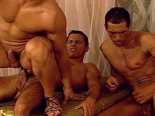 fantasy gay triple drill