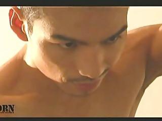 eastern  gay porn star loves the camera