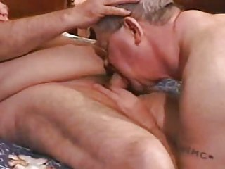 gay elderly chub pair