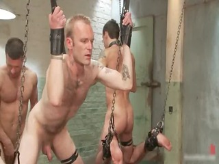 unmerciful gay bdsm fuck clip with tristan gay