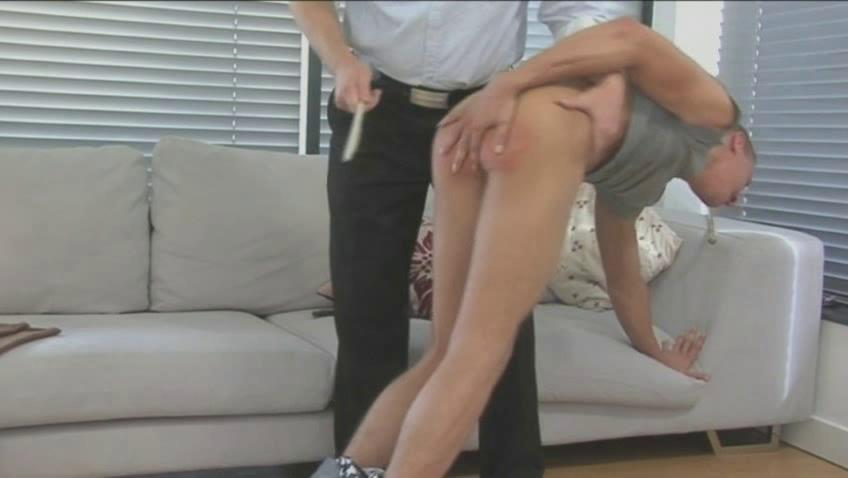 hunky gay fucker takes spanked and whipped sweet