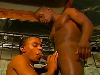 giant dick butt drilling with gay gangsta