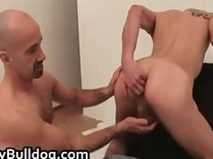very extreme gay bottom gang-banging and cock