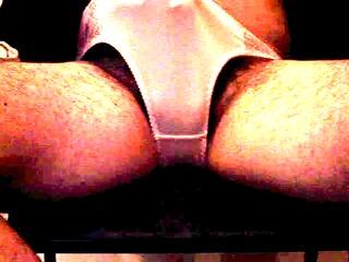 panty wank and sperm