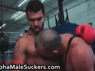 slutty gay tough drilling and licking part1