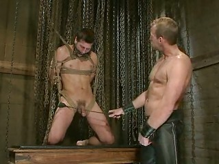 awesome gay man had tied up and tortured by