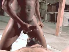 inexperienced gay sperm comp
