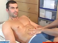 nicolas, a pure french straight guy obtain wanked