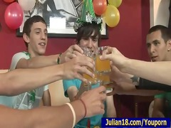 18 birthday celebration with 7 boys!