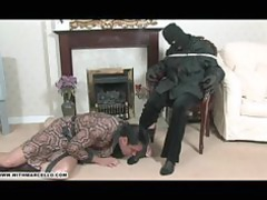 hunky gay stud likes feet wank and fellatio from