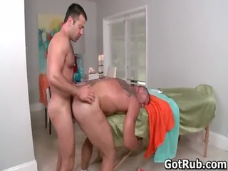 hot guy own his amazing shape massaged gay porn