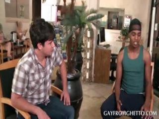 teenage black gay licking shaft
