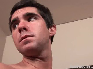 str8 young faced stud initial occasion gay porn
